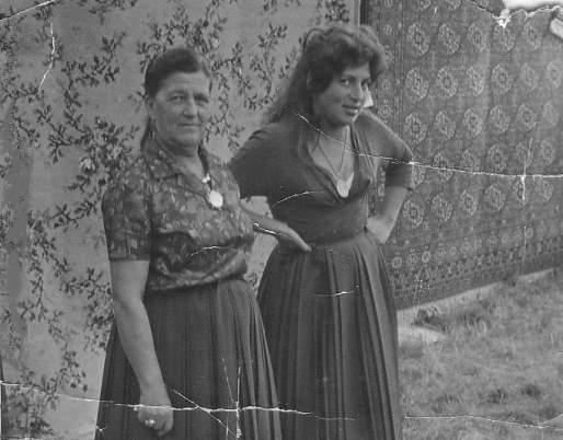 Ceija y su mamá Sidi