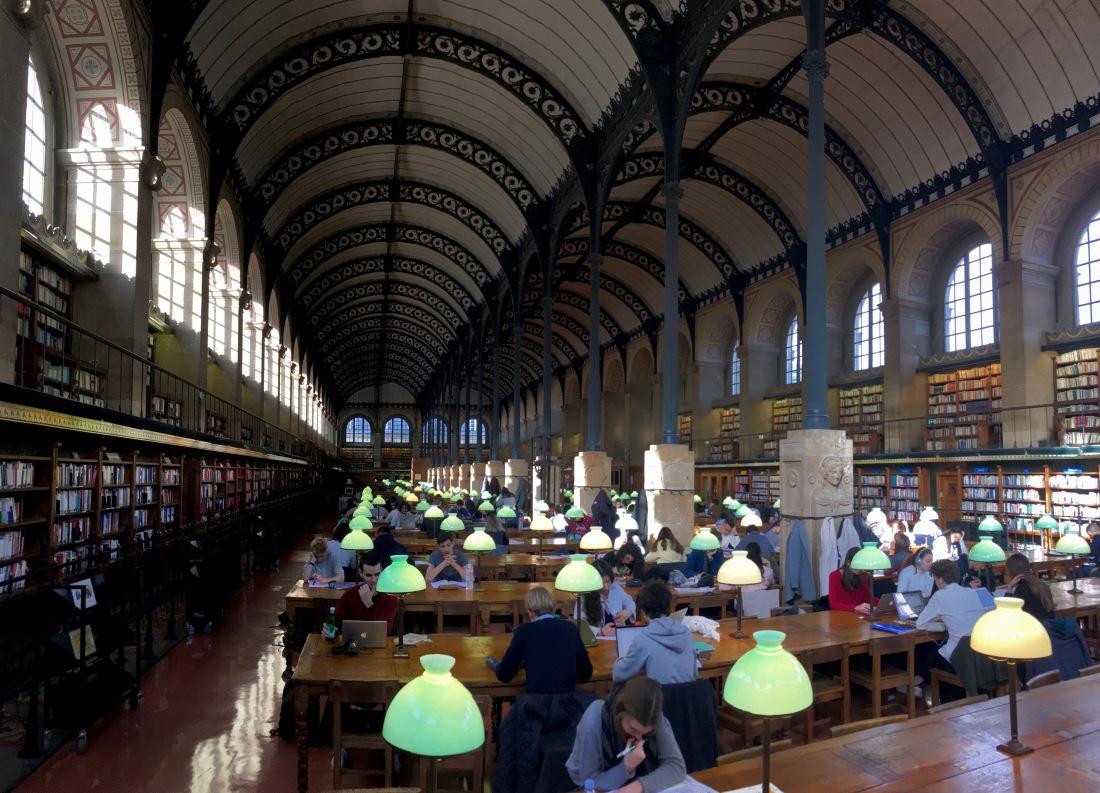 Bibliotèque Sainte Genevieve
